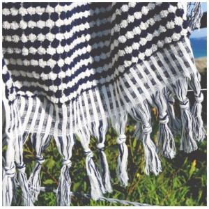 pom pom turkish towel